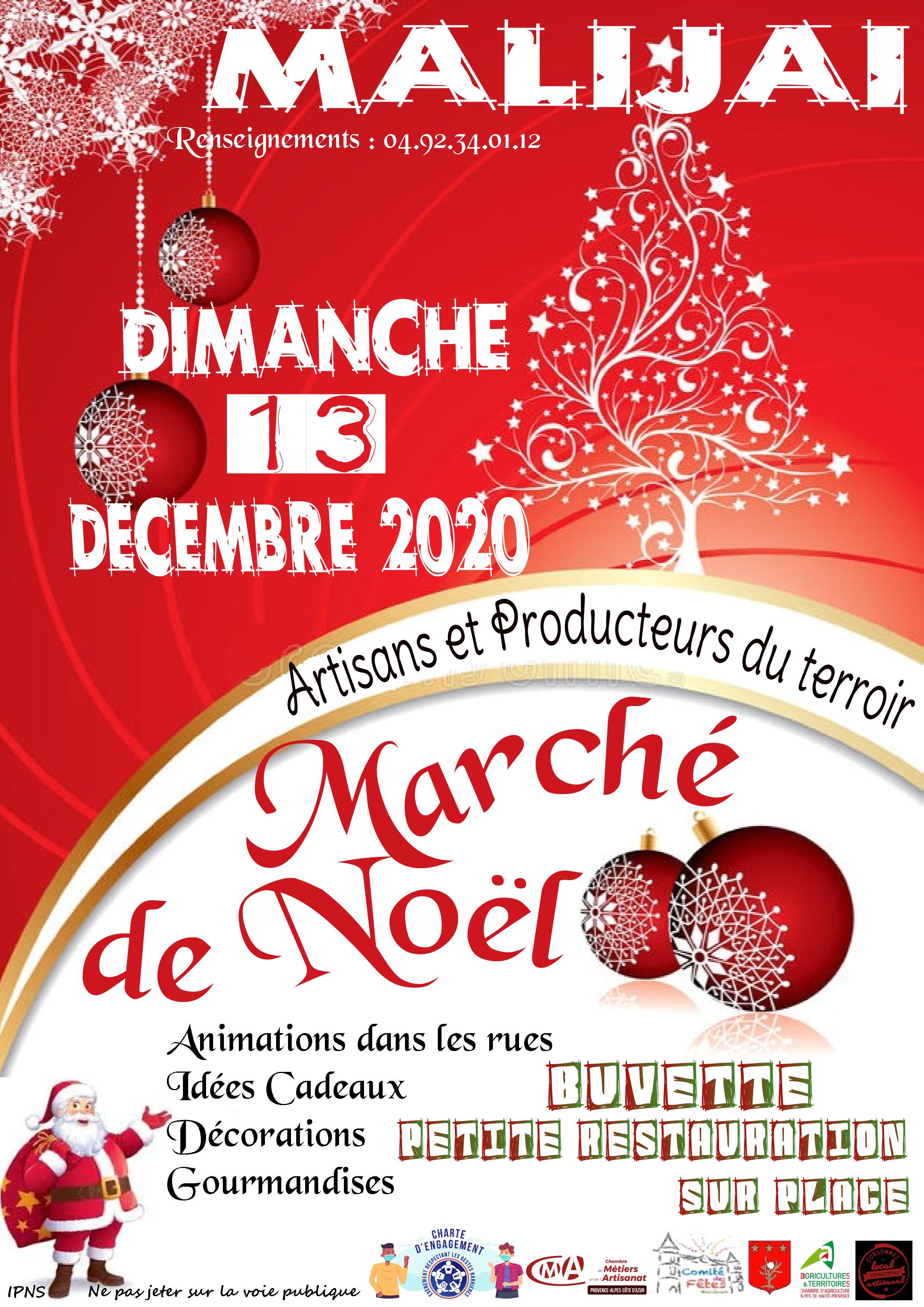 affiche marché noel 2020 n°2