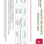 Collecte dechets verts 2020